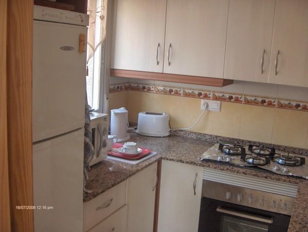 Cuisine toute quip e location d 39 un appartement for Cuisine toute equipee